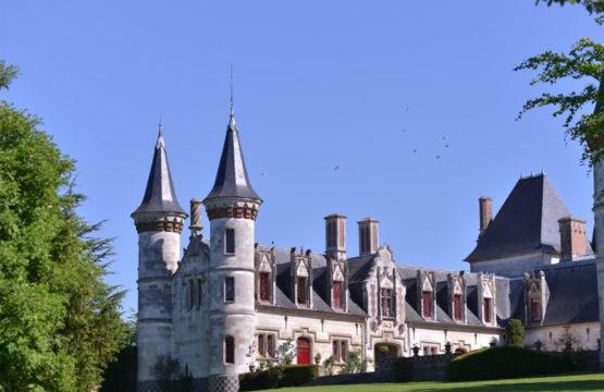 Le château de Regnière Ecluse